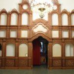 В Покровском храме монастыря начаты работы по установке иконостаса