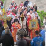Литургия в праздник Преполовения Пятидесятницы
