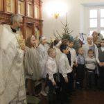 Поздравление прихожан учениками воскресной школы
