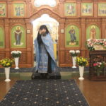 Понедельник (20 сентября). Всенощная Предпразднство Рождества Пресвятой Богородицы.